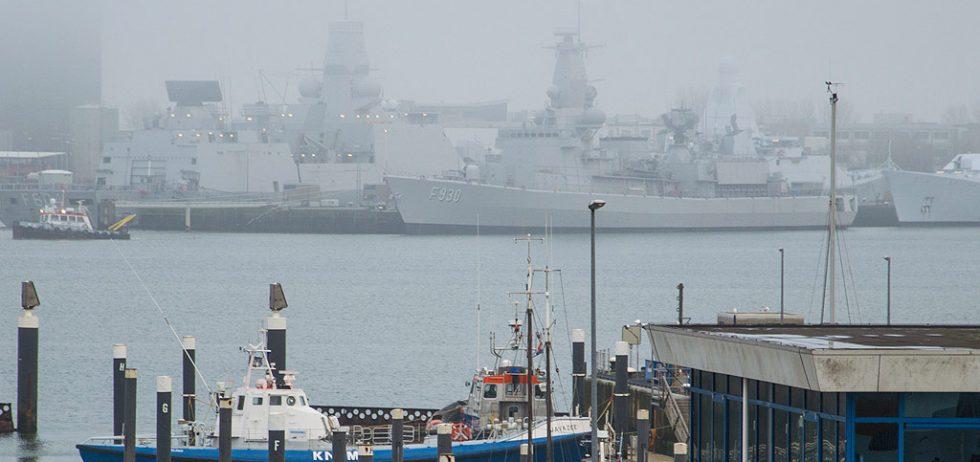 Den Helder – Uitzicht op Nederlandse Marine