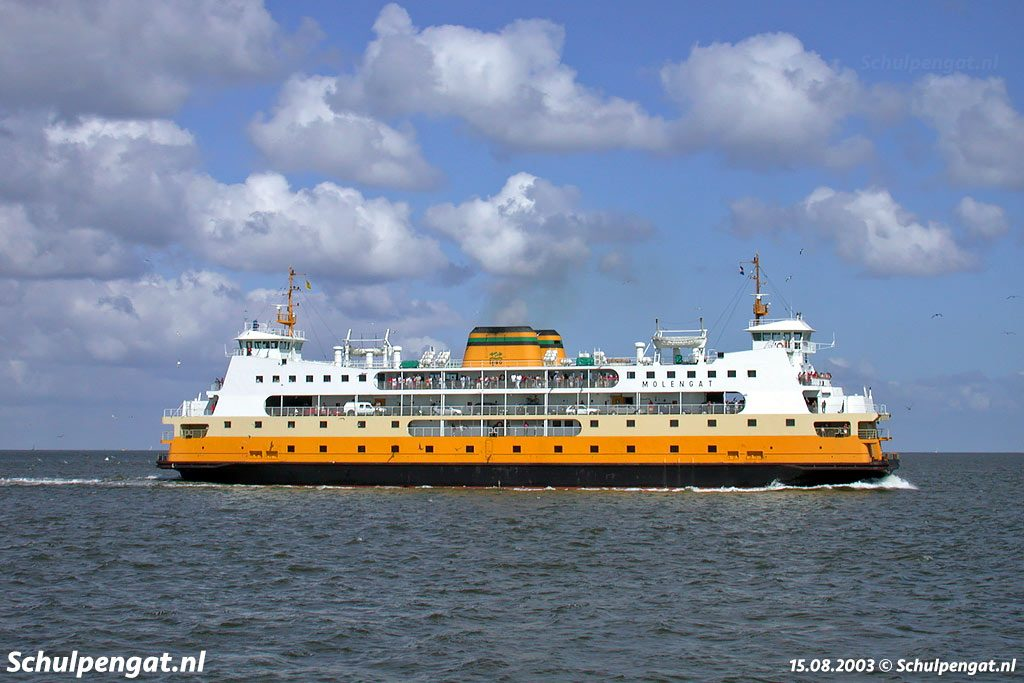 In 1980 kwam de TESO-veerboot Molengat in de vaart, in 2008 vertrok het schip definitief van Texel