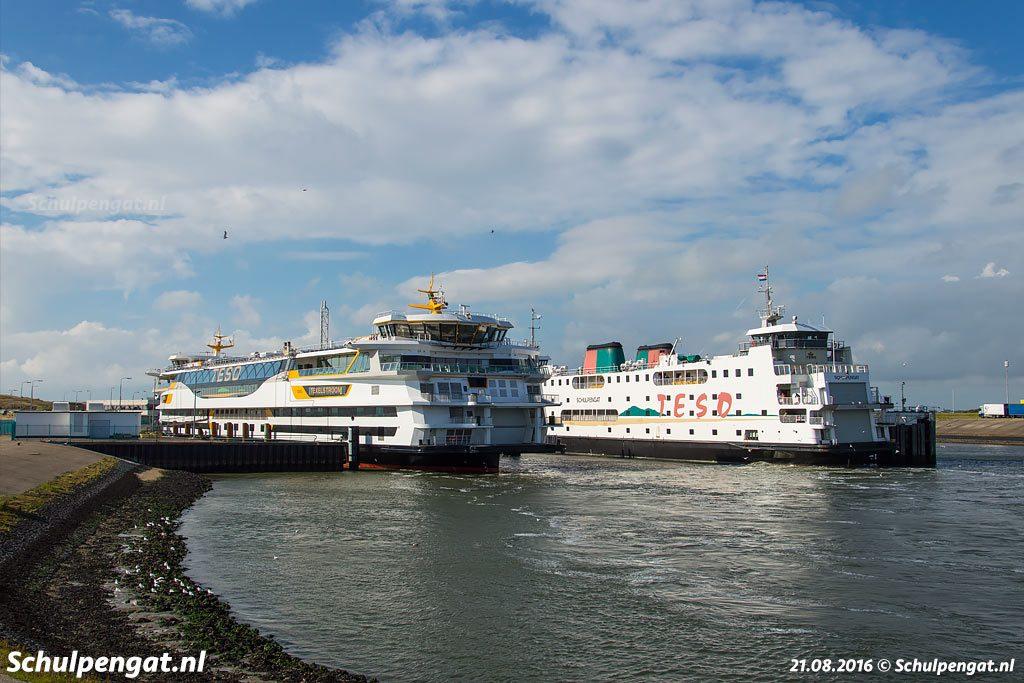 Het huidige vlaggenschip van Texel's Eigen Stoomboot Dienst is de veerboot Texelstroom