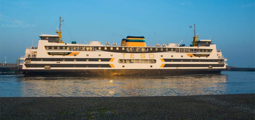 TESO-bootdienst veerboot Schulpengat