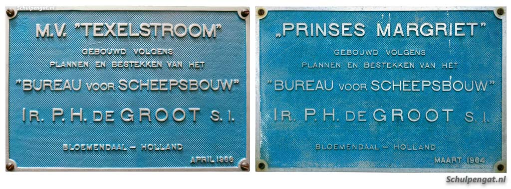 Werfplaten Texelstroom (TESO) & Margriet (PSD)